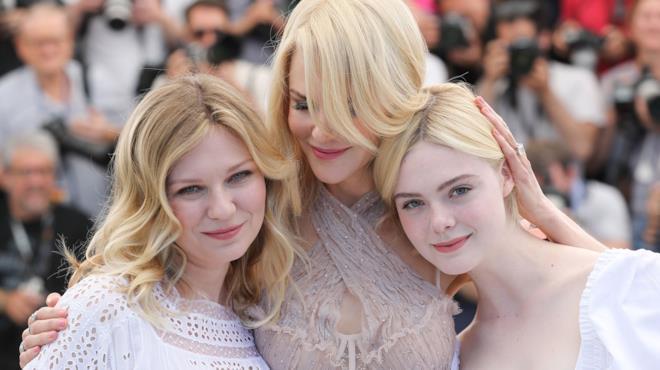 Kirsten Dunst, Nicole Kidman e Elle Fanning a Cannes 70