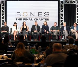 Il cast di Bones al TCA Press Tour