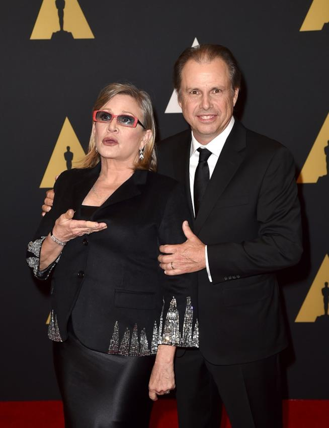 Cocktail di droghe nel corpo di Carrie Fisher