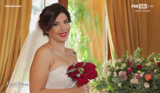 Grazia è la sposa vincitrice della prima puntata di Quattro Matrimoni in Italia 4