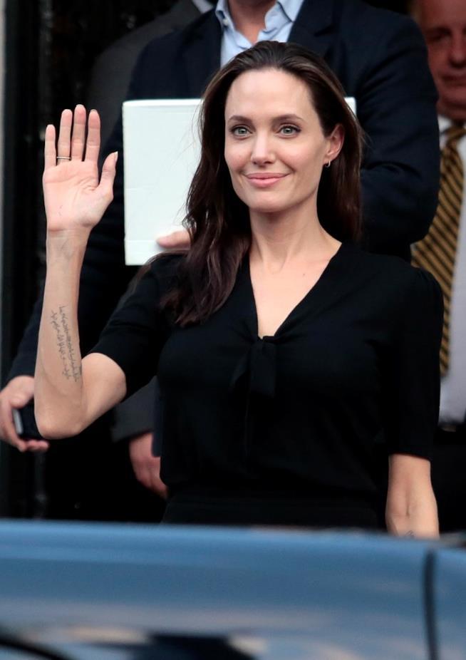 Una delle ultime apparizioni pubbliche di Angelina Jolie