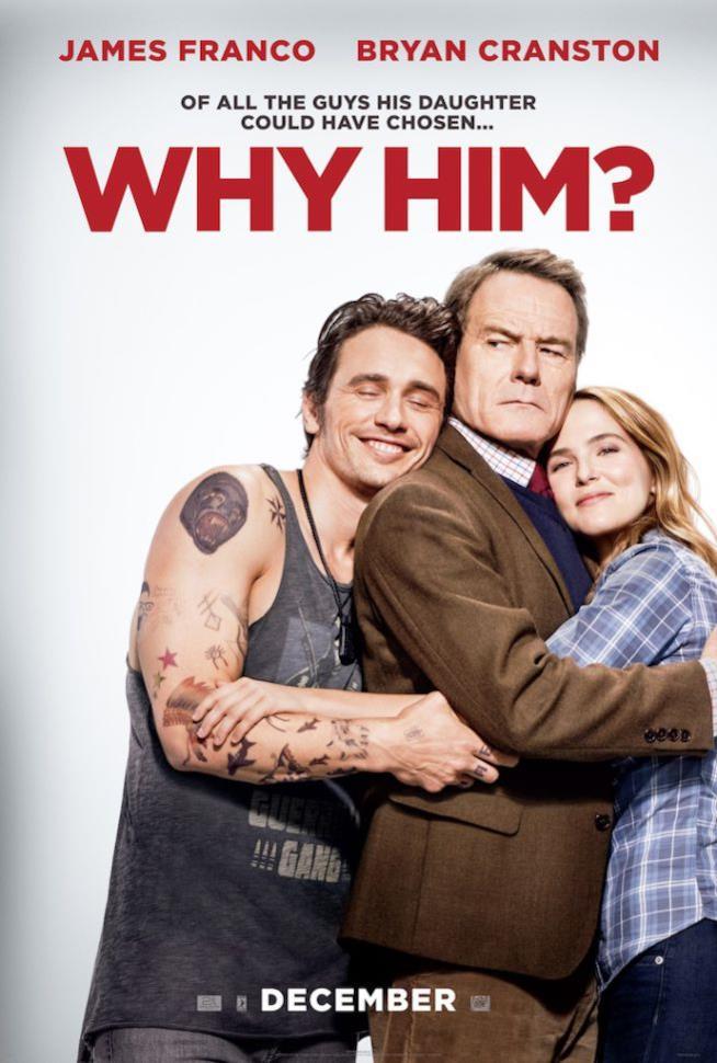 James Franco e Bryan Cranston in Perché proprio lui?