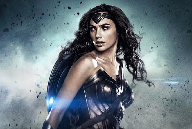 Gal Gadot alias Wonder Woman in un'immagine di scena