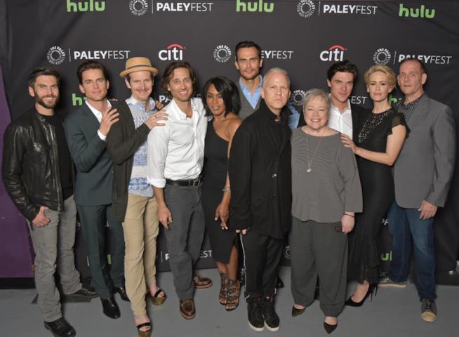 Il cast di American Horror Story e il creatore Ryan Murphy