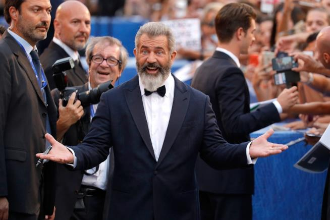 Getty Images Mel Gibson Venezia 73