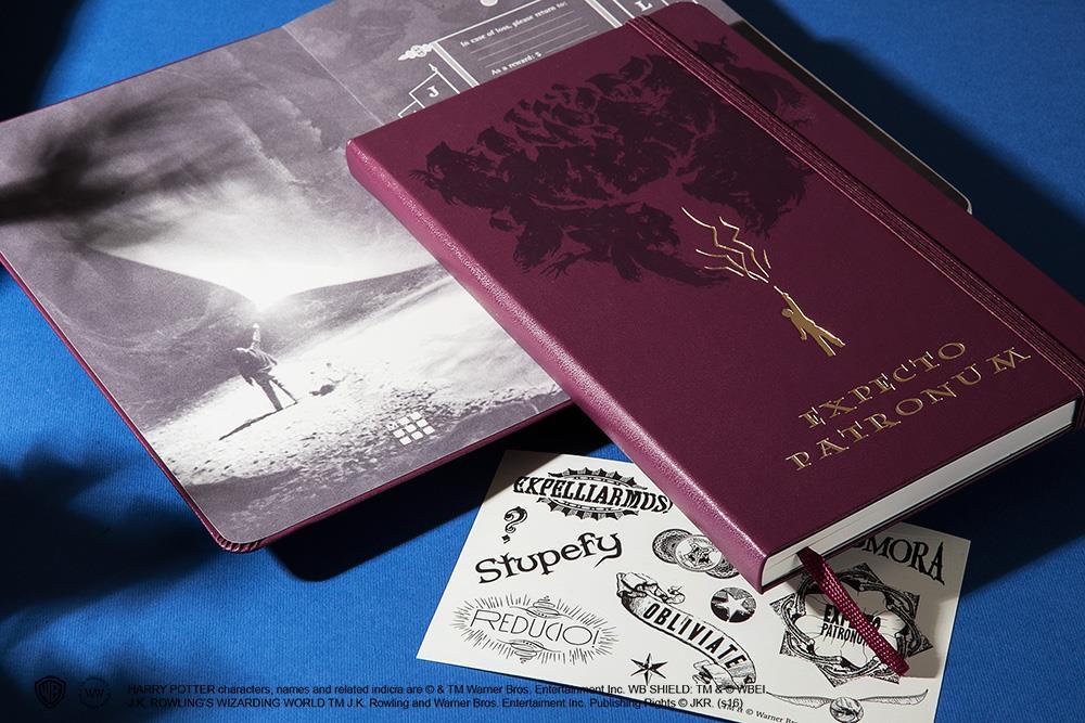 Il taccuino della collezione Moleskine dedicata a Harry Potter