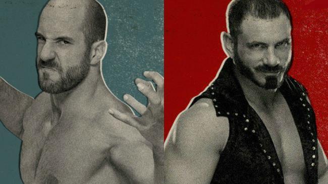 Cesaro e Austin Aries in WWE 2K17