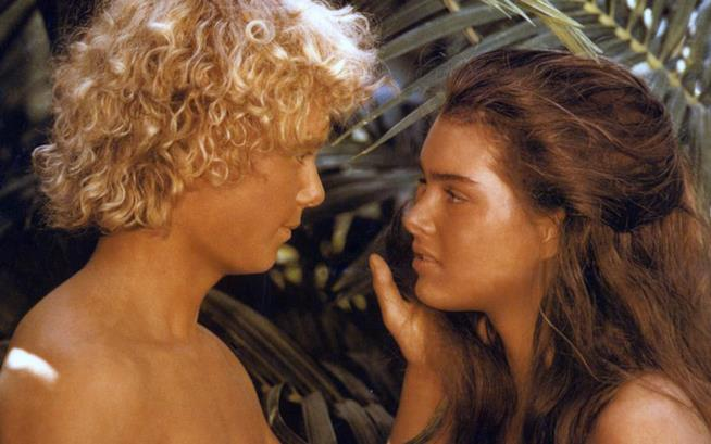 Christopher Atkins e Brooke Shields in Laguna Blu