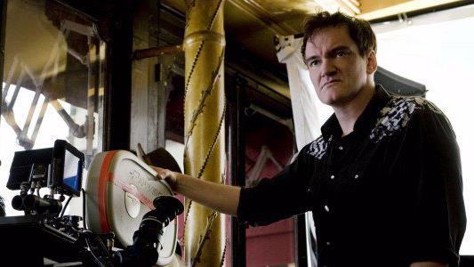 Il premio Oscar Quentin Tarantino