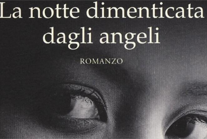 Un dettaglio della copertina di La Notte Dimenticata dagli Angeli