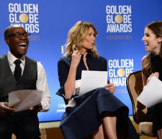 Anna Kendrick, Laura Dern e Don Cheadle pronti ad annunciare le nomination ai Golden Globes 2017