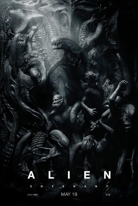 Gli xenomorfi popolano un meraviglioso poster di Alien: Covenant