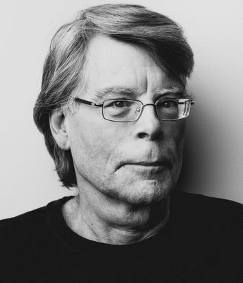 Primo piano di Stephen King
