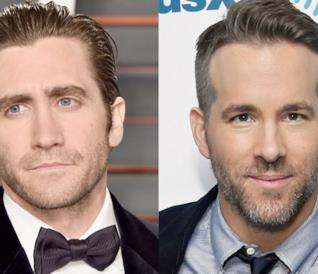 Un collage tra Jake Gyllenhaal e Ryan Reynolds
