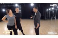 Claudia e Max alle prove per la sfida a coppie di Dance Dance Dance