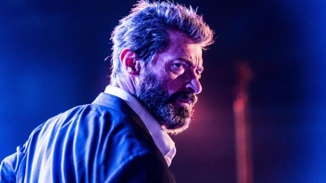 Un'immagine di Hugh Jackman, l'indimenticabile Wolverine. L'attore racconta lo strappalacrime Logan.