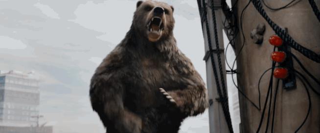 L'orso russo di Guardians all'attacco