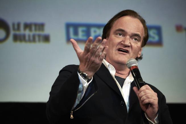 Il regista Tarantino