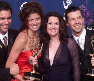 I protagonisti di Will & Grace premiati agli Emmy Awards