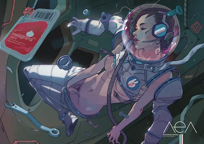 L'astronauta di Matteo De Longis per Melagrana