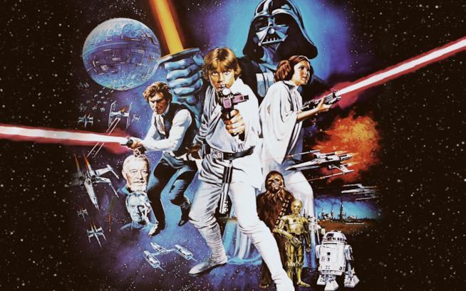 Il poster del quarto capitolo della saga