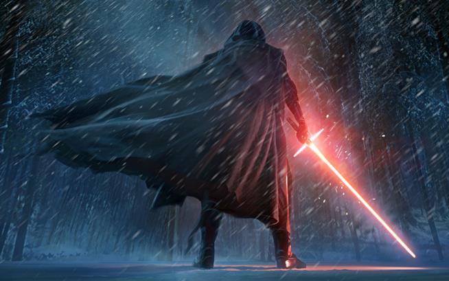 Kylo Ren in Star Wars VII