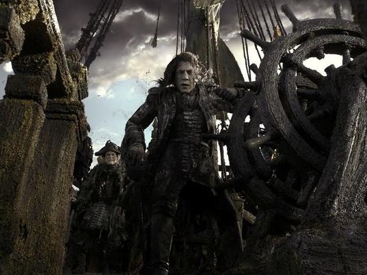 Javier Bardem nei Pirati dei Caraibi 5