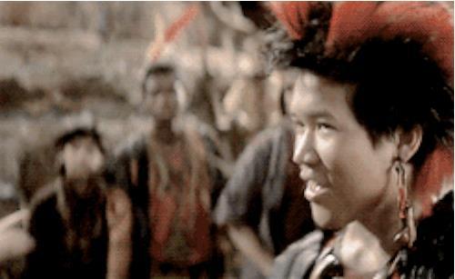 Dante Blasco è Rufio In Hook - Capitan Uncino