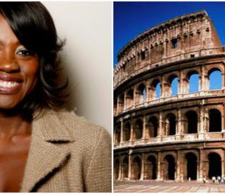 Viola Davis e il Colosseo