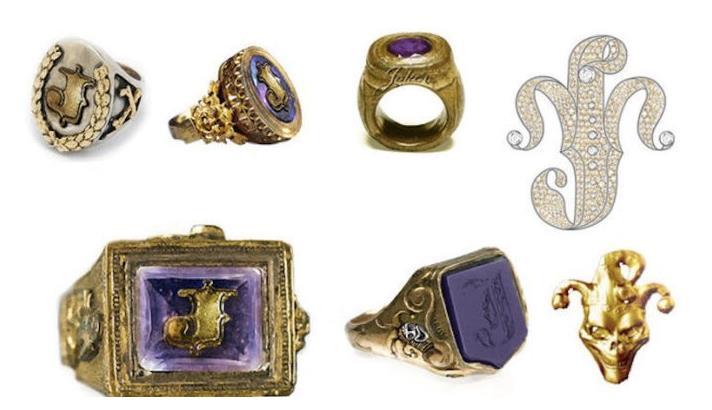 Gli anelli e i monili del Joker.
