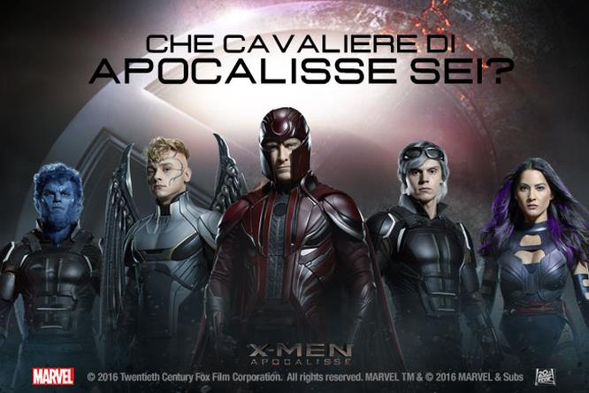X-Men - Apocalisse: i character poster!