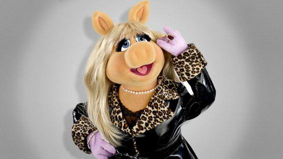 La star de I Muppet, la divina Miss Piggy