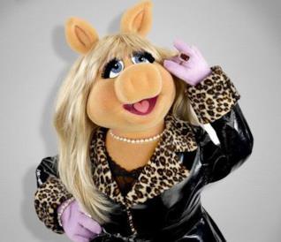 Miss Piggy, star de I Muppet