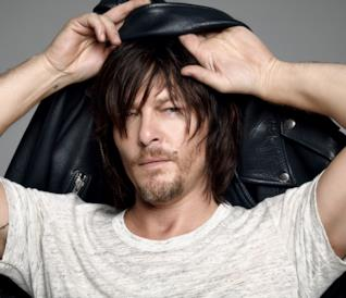 L'attore Norman Reedus di The Walking Dead