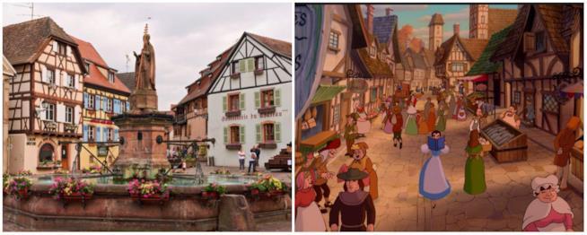 Il villaggio di Belle si trova in Alsazia
