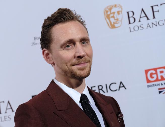 Primo piano di Tom Hiddleston