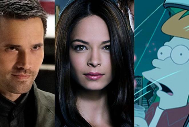 Agents of S.H.I.E.L.D., Beauty and the Beast e Futurama