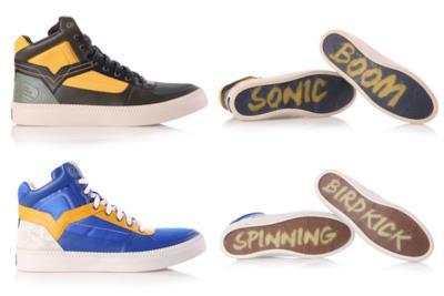 Le sneakers di Chun Li e Nash