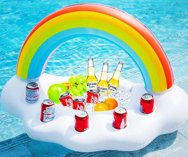 Il gonfiabile bar dell'arcobaleno