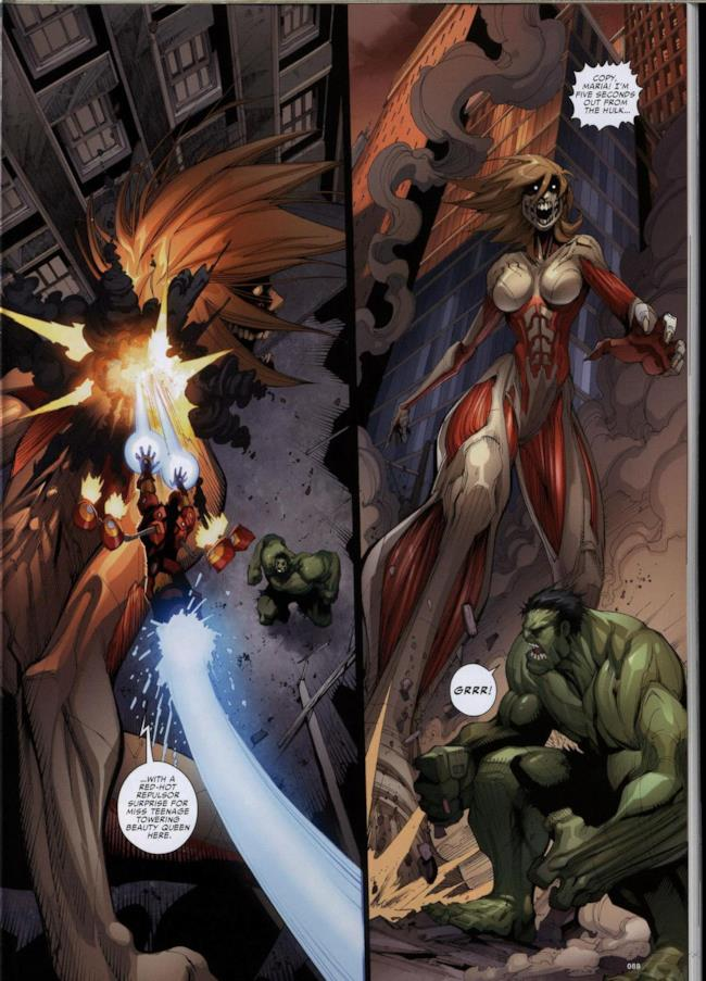 Attack on Avengers, pagina 6