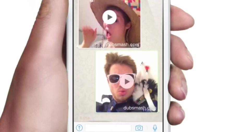 Immagine di presentazione dell'app Dubsmash