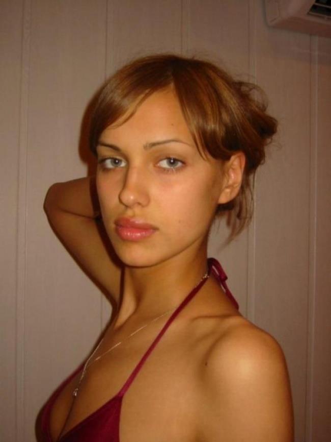 Un'immagine di Irina Shayk da adolescente