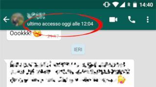 I pericoli dell'essere online su WhatsApp