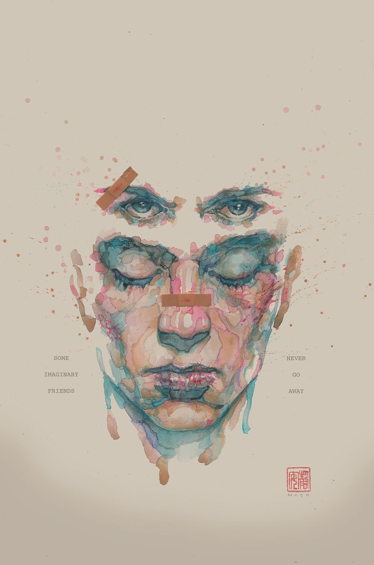 La copertinad i Fight Club 2 disegnata da David Mack