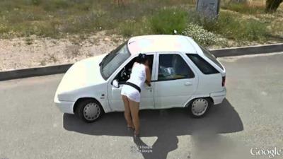 Un'immagine presa da Google Street View