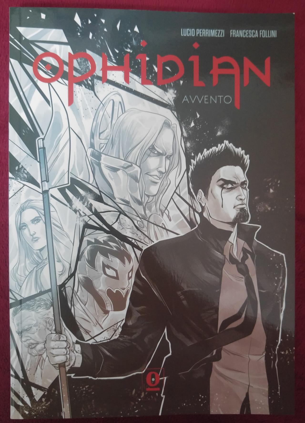 La copertina del fumetto