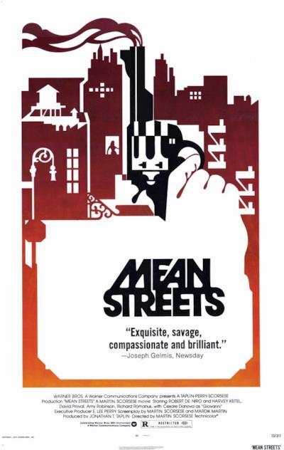 La locandina di Mean Streets - Domenica in chiesa, lunedì all'inferno