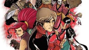 Un dettaglio della copertina The Kabuki Fight Alpha.