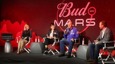La conferenza di Budweiser per la missione su Marte