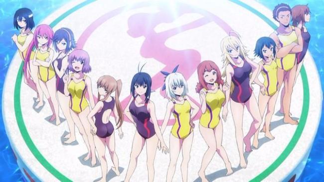 Le protagoniste del manga Keijo!!!!!!!!